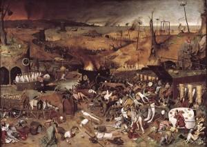 """""""ניצחון המוות"""", ציור של פיטר ברויגל האב, צילום מתוך """"ויקיפדיה"""""""