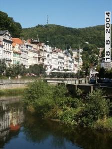 מראה כללי של העיר קרלובי וארי. התמונה צולמה על ידי A&D בעת טיול במקום